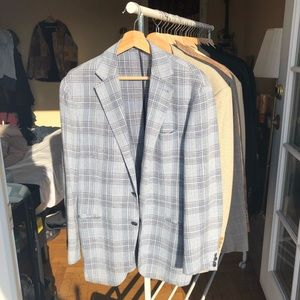 Cantarelli Italian Linen and Wool Suit Jacket